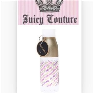 NEW Juicy Couture Plastic Water Bottle W/Graffiti